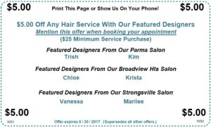 June Stylist Specials