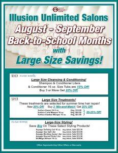 Sept-Aug Specials