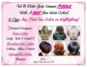Web Site Color Offer June 2017